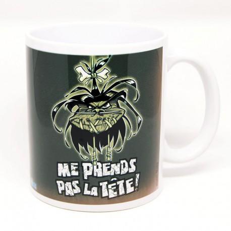 """Mug """"Me prends pas la tête"""" par Maba"""
