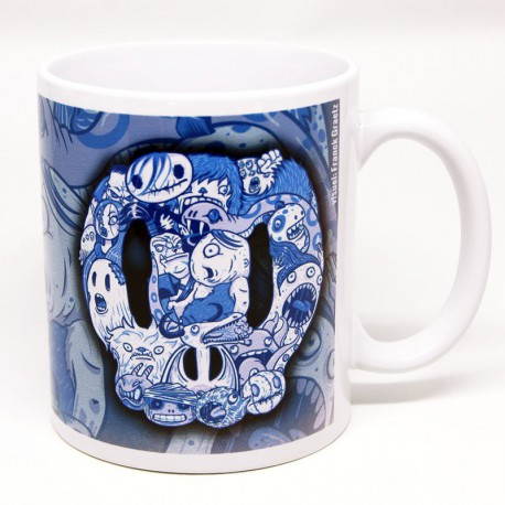 "Mug ""MonsterSkull"" par Franck Graetz"