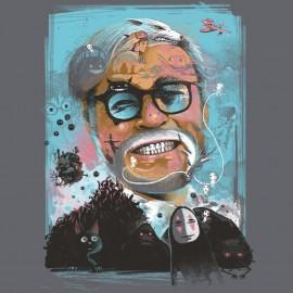 T-shirt Les mondes de Miyazaki