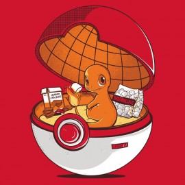 T-shirt Red Pokehouse