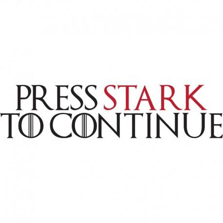 Press Stark To Continue par Ptit Mytho