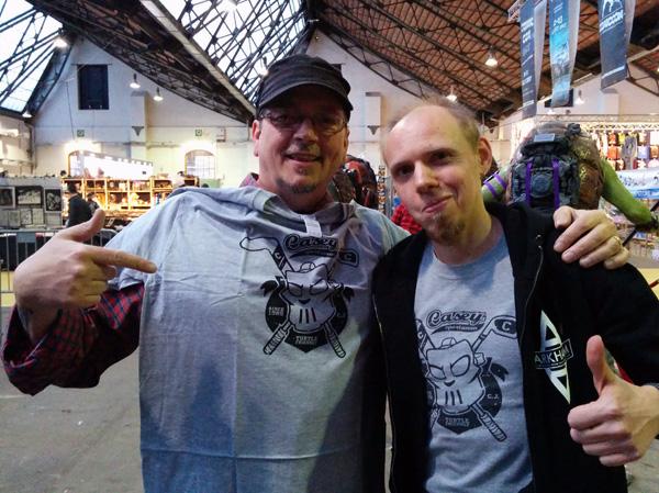 Kevin Eastman (co-créateur des Tortues Ninja - TMNT) et Mr Funtastee